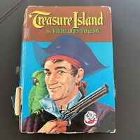 TREASURE ISLAND, ROBERT LOUIS STEVENSON 1955 WHITMAN CLASSIC HARDCOVER BOOK
