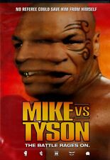 NEW DVD w/o SHRINKWRAP - MIKE vs TYSON - THE BATTLE RAGES ON -