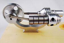 New Steam Engine Stirling Engine Motor Model Educational Toy Kits KM03
