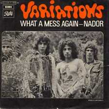 "VARIATIONS ""WHAT A MESS AGAIN"" ORIG FR 1970 HARD ROCK VG++/EX"