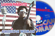 CD CARTONNE CARDSLEEVE 2T LENNY KRAVITZ AMERICAN WOMAN DE 1999