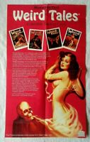 Weird Tales Trading Cards Case Topper Promo Poster Women In Peril Brundage