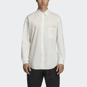 adidas Y-3 Graphic Shirt Sizes S, M White RRP £230 Brand New EK4555 GENUINE ITEM