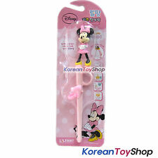 cc19f00f08e30 Mickey Mouse MINNIE Figure Training Chopsticks Right Handed Pink Made in  Korea