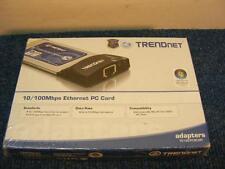TrendNet 10/100Mbps Ethernet PC Card Adapter TE100-PCBUSR 32-bit type II CardBus