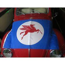 Mobil Oil Fuel Flag Banner Sign flying pegasus garage mancave bar hot rod v8 Av8