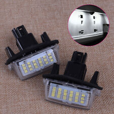 2x LED License Number Plate Light Lamp for Toyota Camry Yaris Prius Avensis Vitz