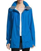 NWT Canada Goose Women's Blue Hayward Shell Jacket Size M Raincoat $494.95