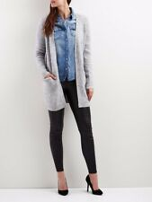 Vila Open Knitted Cardigan Women Grey, Size L RRP£42 (0001)