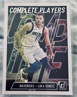 2019-20 Panini Donruss Basketball Luka Doncic COMPLETE PLAYERS Rookie Card. 10?