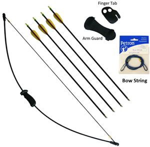 Petron Stealth Strong Leisure Bow Archery Kit With Extra Arrows & Bow String