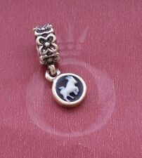 Authentic Retired Pandora Agate Cameo Star Sign Taurus Charm 790500CAM05