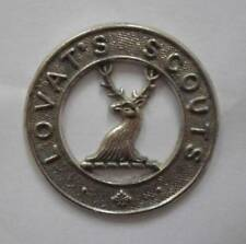 BRITISH ARMY CAP BADGE. THE LOVAT SCOUTS ( YEOMANRY ).