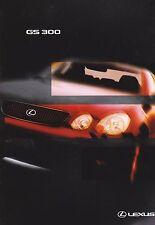 Lexus GS300 Brochure - 1998