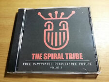 SPIRAL TRIBE CD Vol. 2 - NEW WAVE REMIXES. Cure Depeche Mode China Crisis U2