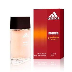 Adidas Moves Pulse for Him Men 1 oz EDT Spray Perfume cologne 1.0 original 30 ml