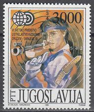 Jugoslawien / Jugoslavija 2339** WM in Sportschießen 1989 Sarajevo