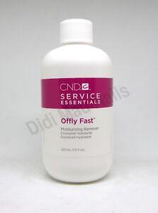CND Shellac OFFLY FAST Moisturizing Nail Gel Remover 222ml 7.5oz~Nourishing