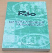 KIA Rio 2006 D4FA-DSL 1,5 Motor Schaltgetriebe M5CF2 Werkstatthandbuch Ergänzung