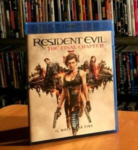 Resident Evil: The Final Chapter (2016) BLU-RAY COME NUOVO Milla Jovovich