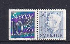 v1854 Schweden  MiNr 430+427 D o  Zusammendruck W 3