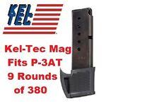 Kel Tec P-3AT 9 Round Magazine 380 acp Fits P3AT Holds 9 Rnds of 380 Kel-Tec Mag
