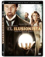 Pelicula DVD el ilusionista precintada