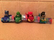 Pj Masks Racers Vehicles Lot of 4 New Ready to ship