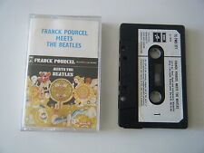 FRANCK POURCELL MEETS THE BEATLES CASSETTE TAPE 1970 PAPER LABEL EMI UK