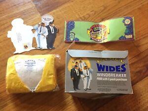 Joe Camel Cigarettes Smoking Yellow Windbreaker Jacket XL Advertise Cash Catalog