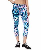 New Calvin Klein Performance Women's Print Cropped Capri Leggings Pants PF6P0789