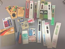 MIXED LOT OF ASSORTED VINTAGE SEWING SUPPLIES NOTIONS