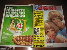 RIVISTA OGGI 1969/40=KESSLER GEMELLE=PIETRO MASCAGNI=THOR HEYERDAHL=lollobrigida