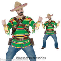 C280 Men Mexican Tequila Pop N Dude Party Outfit Halloween Costume