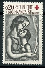 TIMBRE FRANCE OBLITERE CROIX ROUGE  N° 1323 ROUAULT