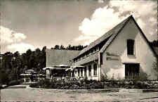 Gütersloh alte AK ~1950/60 Partie Autobahn-Rasthaus-Hotel Terrasse Gebäude Haus