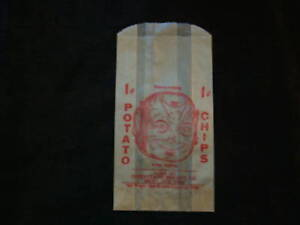 INTERSTATE BISCUIT CO BRONX NY 1 CENT  POTATO CHIPS BAG
