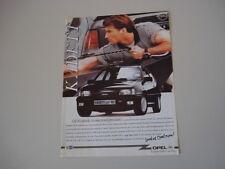 advertising Pubblicità 1991 OPEL KADETT GSi 16V