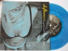"""DEFTONES Be quiet & drive 7"""" BLUE VINYL"""