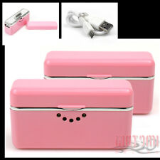 2X 2800MAH EXTERNAL PINK BATTERY BACKUP CHARGER USB IPHONE 4S 4 3GS IPOD TOUCH
