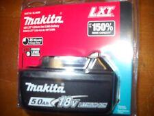 GENUINE Makita BL1850B 18 Volt Battery 5.0 AH LED GAUGE 18V NEW Li-Ion LXT