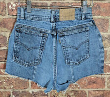 Vintage Levi's 80's Shorts sz 9 Denim Jeans Festival Hipster Mom High Rockabilly