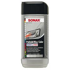 SONAX Polish & Wax Colore Nano Pro lucidatrice auto di colore grigio argento