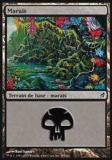 ▼▲▼4x Marais (Swamp) LORWYN #291 FRENCH
