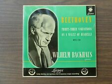 BEETHOVEN Thirty-Three Variations On A Waltz Of Diabelli - Wilhelm Backhaus