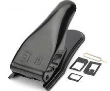JAKEMY JM-CT0-22 Black Dual 2 in 1 Nano Micro SIM Card Cutter