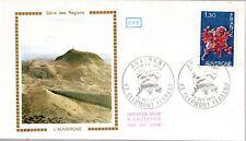 1850+ FDC  ENVELOPPE 1er JOUR  CEF SERIE DES REGIONS  L'  AUVERGNE