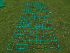 7x3ft STRONG soft cargo rope scramble net 4tree house climbing frame play safety