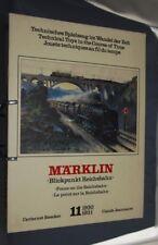 D890 LIVRE CATALOGUE TRAIN MARKLIN JOUETS TECHNIQUES AU FIL DU TEMPS N° 11