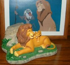 "Disneys The Lion King ""Cant Wait To Be King"" by Costa Alavezos W/ Timon Pin Rare"